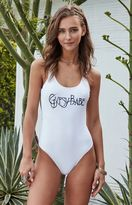 La Hearts Low Back One Piece Swimsuit