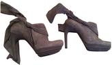 Balenciaga Velvet ankle boots