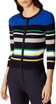 Karen Millen Striped Cardigan