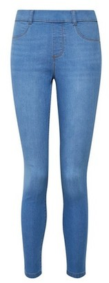 Dorothy Perkins Womens Lightwash 'Eden' Ankle Grazer Denim Jeggings With Organic Cotton