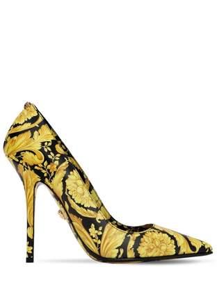Versace Gold Leather Heels
