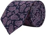 Turnbull & Asser Paisley Silk Tie
