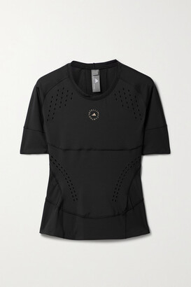 adidas by Stella McCartney Truepurpose Perforated Recycled Stretch T-shirt - Black