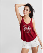 Express american dreaming scoop neck tank