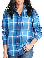 Polo Ralph Lauren Relaxed-Fit Plaid Shirt