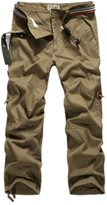 JYE New Men's Cotton Hobo Men Relaxed Fit Cargo Shorts Summer Pants Trousers