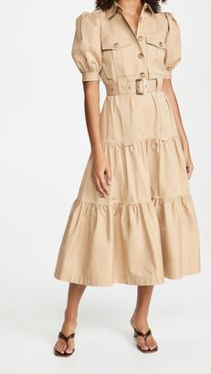 Derek Lam 10 Crosby Buffy Utility Maxi Dress