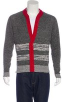 Bottega Veneta Silk-Blend V-Neck Sweater