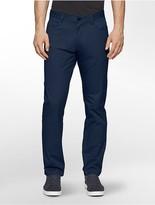 Calvin Klein Slim Fit Sateen Pants