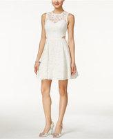Xscape Evenings Cutout Lace Illusion Dress