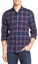 Barbour Seth Tailored Fit Plaid Sport Shirt