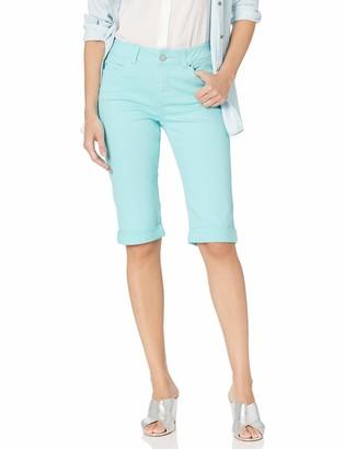 Rafaella Women's Slim Fit Denim Bermuda Short