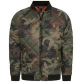 Ralph Lauren Ralph LaurenBoys Camouflage Quilted Jacket