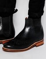 Grenson Jacob Brogue Chelsea Boots