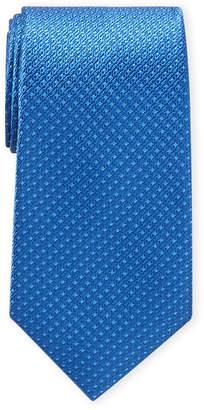 Ike Behar Ike By Blue Micro Pattern Tie