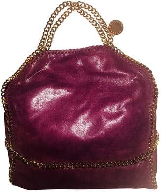 Stella McCartney Stella Mc Cartney Falabella Burgundy Leather Handbags
