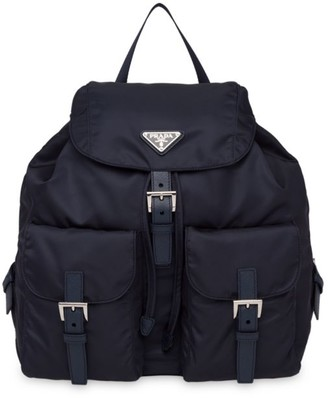 Prada Large Vela Nylon Backpack