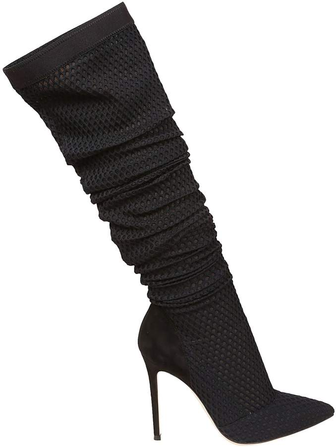 Gianvito Rossi Perforated Boots