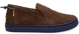 Toms Shaggy Suede Slip-On