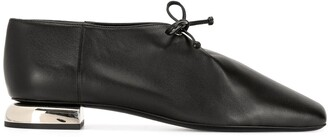 Pierre Hardy Satellite square toe lace-up shoes