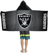 Youth Oakland Raiders Hooded Beach Towel