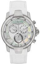 Technomarine Women's 609009 UF6 Chronograph White Leather Watch