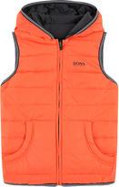 BOSS Reversible sleeveless jacket