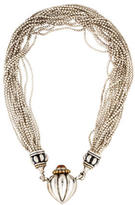 Lagos Citrine Heart Multistrand Necklace