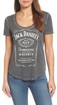 Lucky Brand Women's Studded Jack Daniels Tee