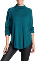 Magaschoni Cocoon Turtleneck Raglan Cashmere Sweater