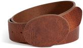 Maison Margiela Leather Covered Buckle Belt