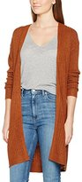 Dorothy Perkins Women's Ginger Rib Long Line Cardi Cardigan