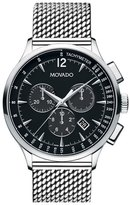 Movado 'Circa' Chronograph Mesh Strap Watch, 42mm
