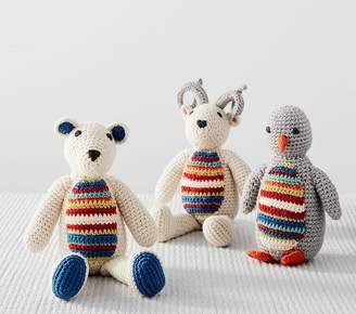 Pottery Barn Kids Merry & Bright Knit Plush - Polar Bear
