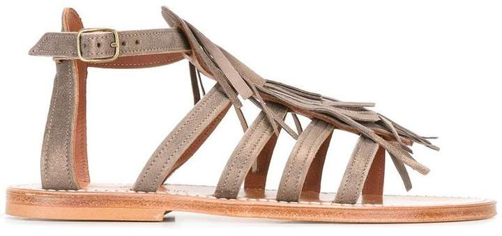 K. Jacques fringed sandals