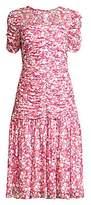 Shoshanna Women's Vonne Floral Drop-Waist Dress