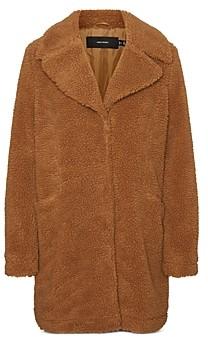 Vero Moda Faux Fur Teddy Coat
