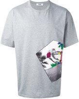 MSGM photo print T-shirt - men - Cotton - S