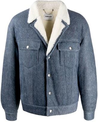 Ambush Denim Mouton Jacket