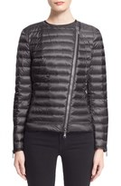 Moncler 'Amey' Water Resistant Short Biker Down Jacket