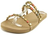 Kenneth Cole Reaction Slim Brim Open Toe Synthetic Slides Sandal.