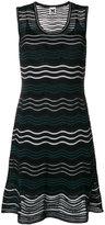 M Missoni wave knit sleeveless dress
