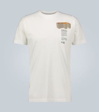 Off-White F Building short-sleeved T-shirt