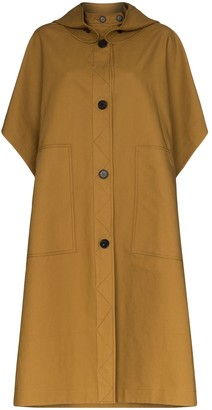 LVIR Hooded Cotton Trench Coat
