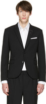 Neil Barrett Black Thunderbolt Blazer