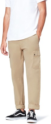 Find. Amazon Brand Men's Men's Regular Fit Cargo Trousers Pants