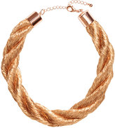 H&M Twisted Necklace - Gold-colored - Ladies