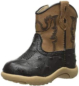 Roper Bumps Square Toe Ostrich Boot (Infant/Toddler/Little Kid/Big Kid)