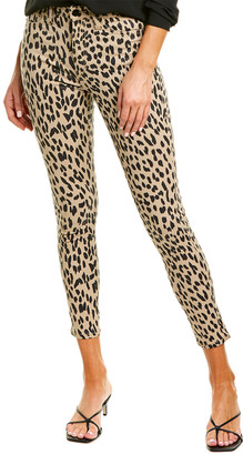 Joe's Jeans The Charlie Western Cheetah Tan Ankle Cut Jean