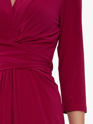 Gina Bacconi Dessa Tie Belt Dress